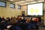 Una delle presentazioni al Samoter 2011