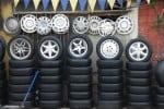 Gli pneumatici e l'autonoleggio