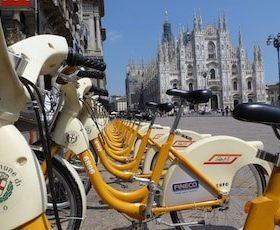 Bike Sharing, bene Milano con BikeMi