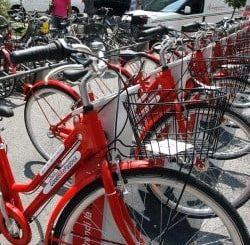 Bike sharing a Padova, Treviso e Venezia
