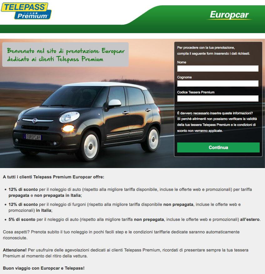 Partnership-Europcar-TelepassPremium
