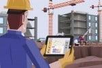 Un frame del video esplicativo di LoJack Connect for Equipment