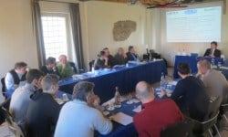 Una foto dei lavori del meeting Tyrolit Rental Service