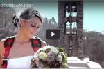 La sposa arriva dall'alto