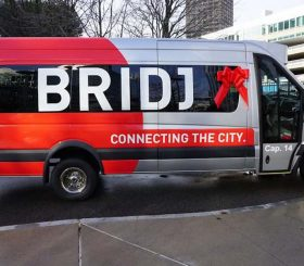 Bridj porta l'intelligenza artificiale nel carpooling