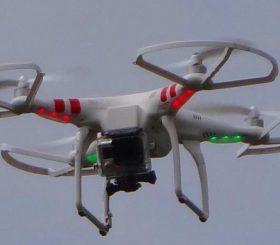 Noleggio di droni per edilizia