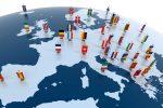 In flessione l'edilizia in Europa