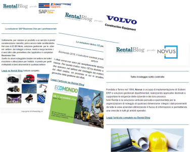 Newsletter Rental Blog