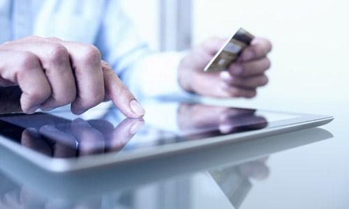 Acquisto autonoleggio online da tablet