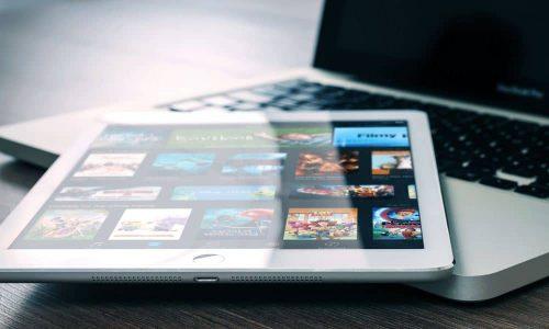 Uso di iPad in impresa di costruzioni