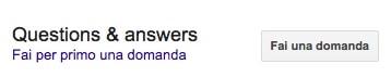 Come fare domande su Google My Business
