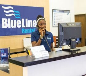 BlueLine rental accoglienza cliente