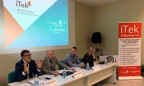 tavolo dei relatori al convegno
