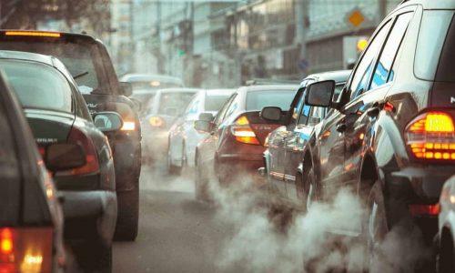 Inquinamento delle auto in città