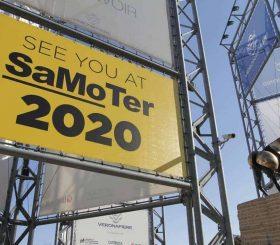 cartellone pubblicitario Samoter 2020