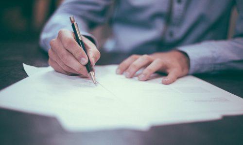 firma di un contratto