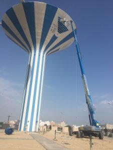 piattaforma Genie al lavoro in Kuwait