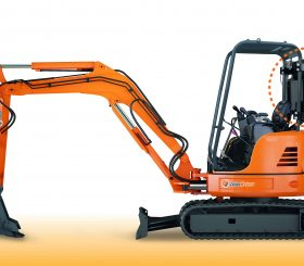 Mini Excavator with Zaino