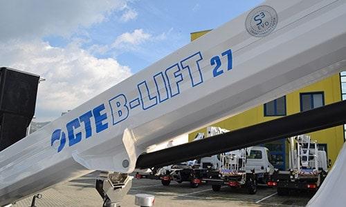 CTE B-LIFT 27.2, restyling per una maggiore produttività