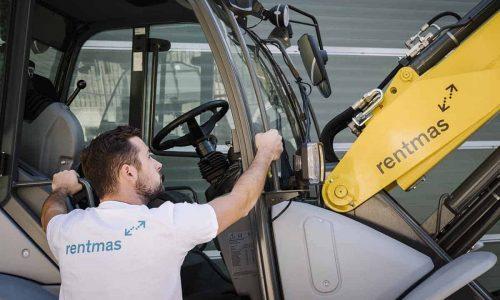 Rentmas, un catalogo con 300 macchinari per lo sharing online da cantiere